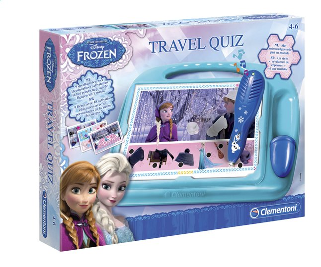 Afbeelding van Travel Quiz Disney Frozen from DreamLand