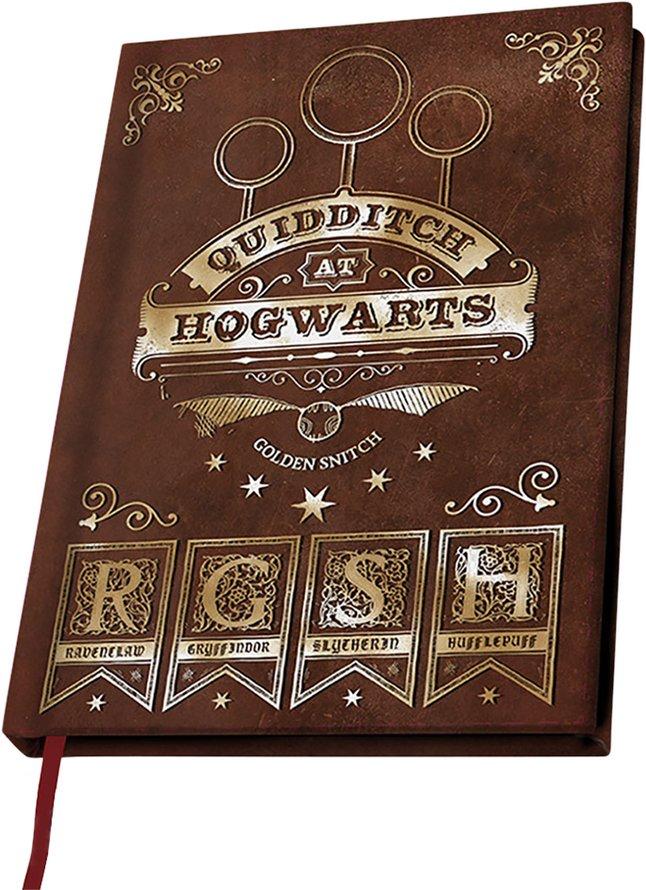 Afbeelding van Notitieboekje A5 Harry Potter Quidditch at Hogwarts from DreamLand