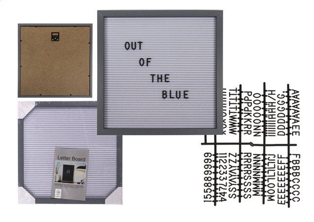Afbeelding van Letterbord 30 x 30 cm grijs from DreamLand