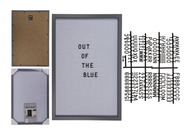 Afbeelding van Letterbord 30 x 45 cm grijs from DreamLand