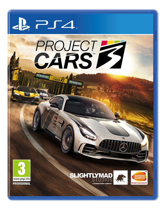 PS4 Project Cars 3 ENG