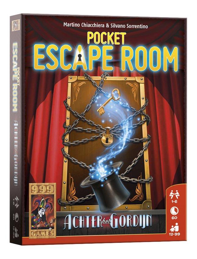 Afbeelding van Pocket Escape Room: Achter het Gordijn from DreamLand
