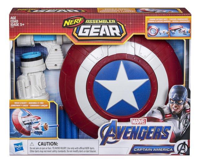 Image pour Nerf pistolet Avengers Assembler Gear Captain America à partir de DreamLand