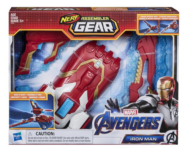 Afbeelding van Nerf blaster Avengers Assembler Gear Iron Man from DreamLand