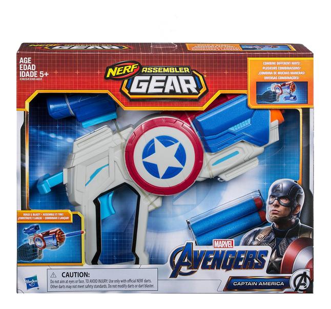 Afbeelding van Nerf blaster Avengers Assembler Gear Captain America from DreamLand