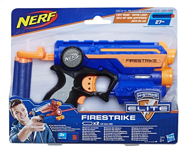 Afbeelding van Nerf blaster Elite N-Strike Firestrike from DreamLand
