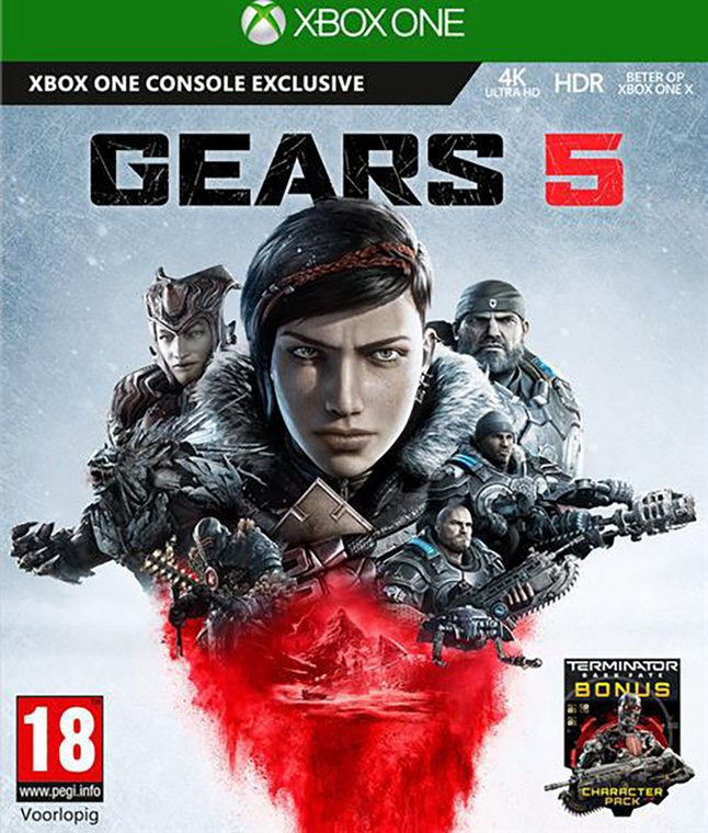 Xbox One Gears of War 5 FR/ANG