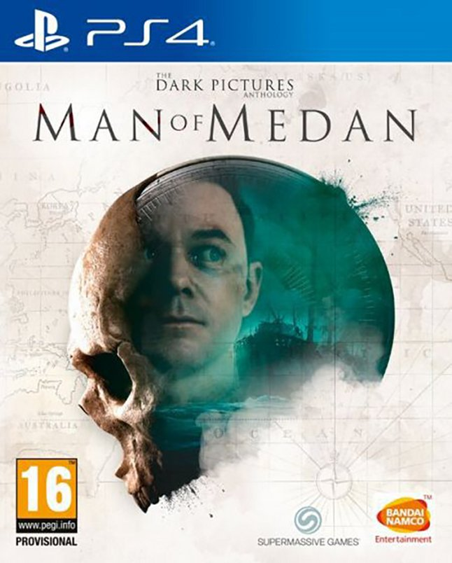PS4 The Dark Pictures Man of Medan ENG