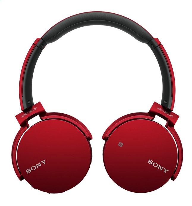 Afbeelding van Sony bluetooth hoofdtelefoon MDR-XB650BT rood from DreamLand