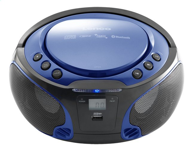 lenco radio lecteur cd portable scd 550 bleu dreamland. Black Bedroom Furniture Sets. Home Design Ideas