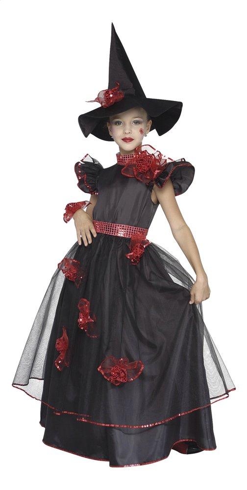 Image pour Déguisement de sorcière rouge/noir taille 128 à partir de DreamLand
