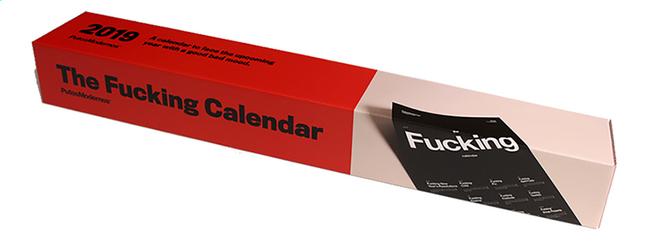 Afbeelding van Kalender The Fucking Calendar 2019 from DreamLand