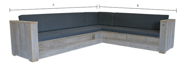 Afbeelding van Dutchwood loungeset Country 300 x 250 cm from DreamLand