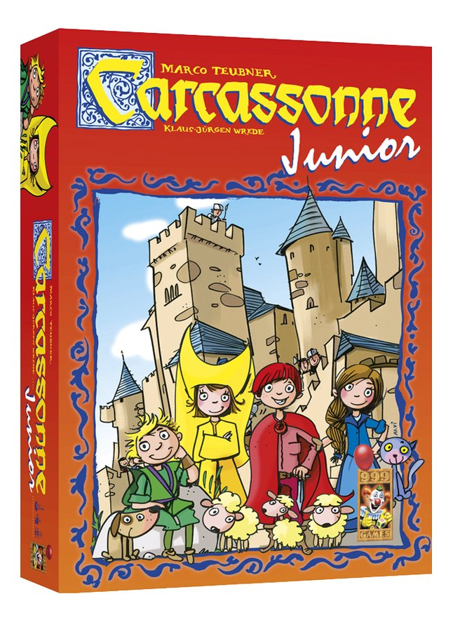 Afbeelding van Carcassonne Junior from DreamLand