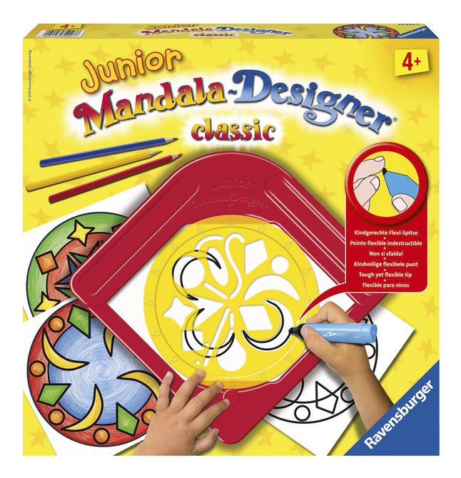 Afbeelding van Ravensburger Junior Mandala-Designer Classic from DreamLand