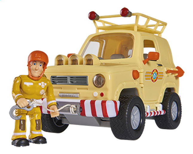 Brandweerman Sam Speelset Toms 4x4 Off Roader Dreamland