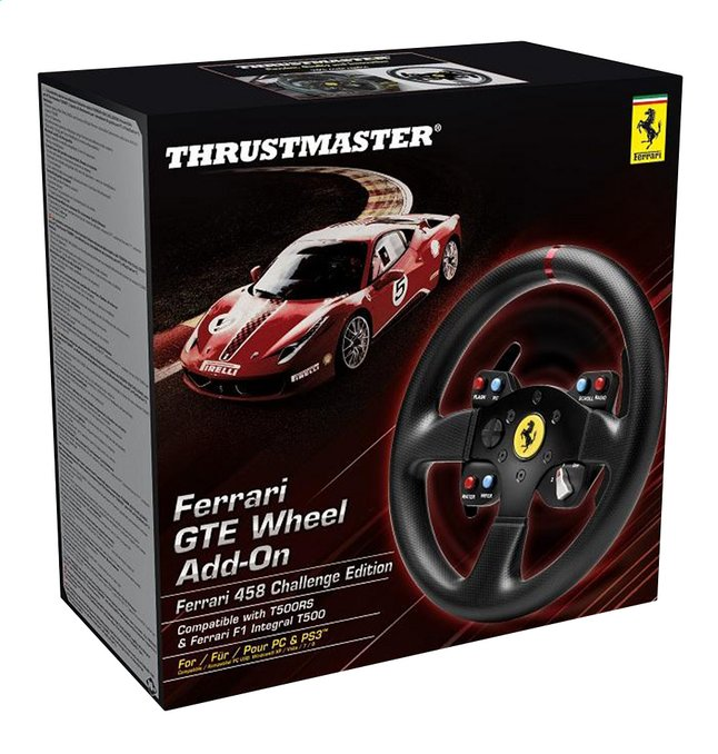 Image pour Thrustmaster roue add-on Ferrari F458 GTE noir à partir de DreamLand