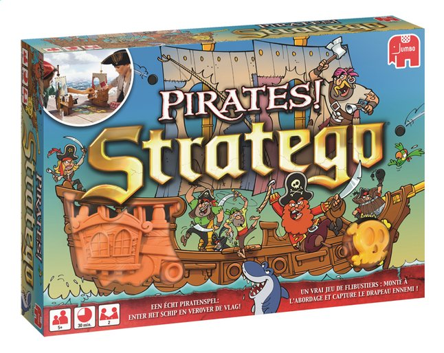 Afbeelding van Stratego Pirates! from DreamLand