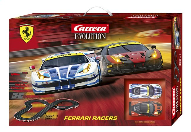 Afbeelding van Carrera Evolution racebaan Ferrari Racers from DreamLand
