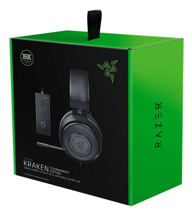 Afbeelding van Razer headset Kraken Tournament Edition zwart from DreamLand