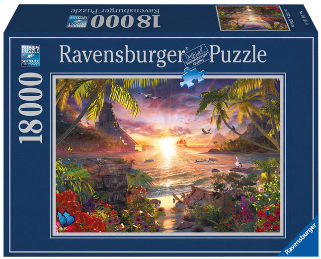 Afbeelding van Ravensburger puzzel Paradijs zonsondergang from DreamLand