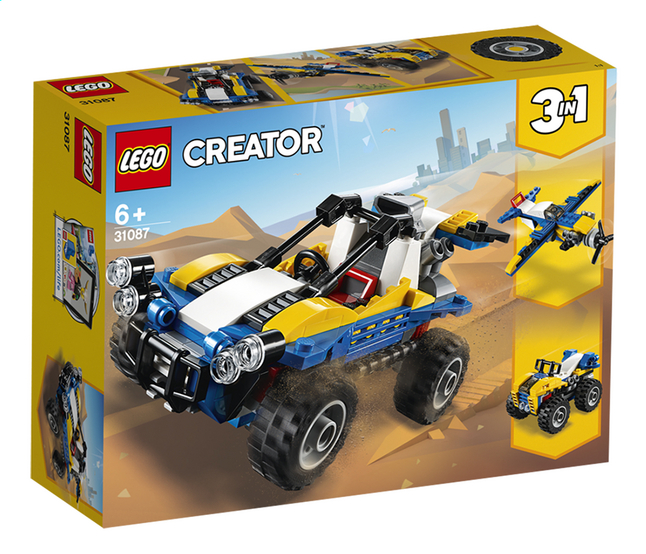 Afbeelding van LEGO Creator 3-in-1 31087 Dune Buggy from DreamLand