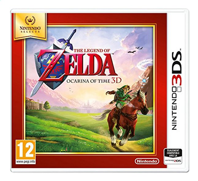image pour nintendo 3ds the legend of zelda ocarina of time 3d fr partir
