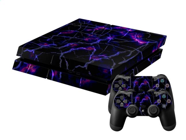 Afbeelding van Skins Dark Matter voor PS4 console + 2 skins voor controllers from DreamLand