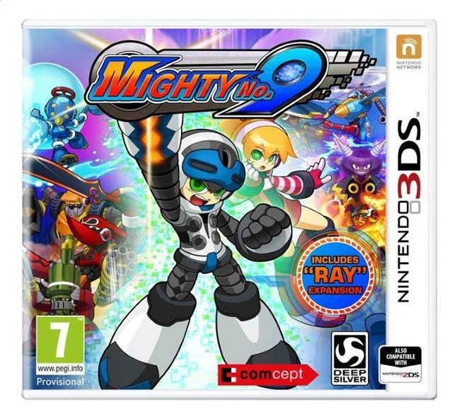 Afbeelding van Nintendo 3DS Mighty No. 9 ENG/FR from DreamLand