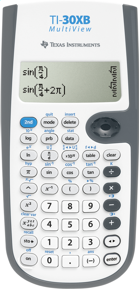 Image pour Texas Instruments calculatrice 30XB MultiView à partir de DreamLand