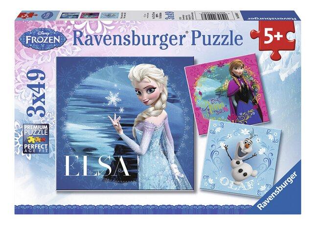 Afbeelding van Ravensburger puzzel 3-in-1 Disney Frozen from DreamLand