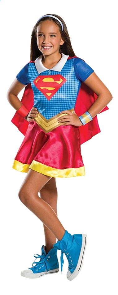 Afbeelding van Verkleedpak DC Super Hero Girls Supergirl maat 122/128 from DreamLand