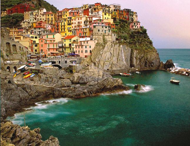 Afbeelding van Ravensburger puzzel Cinque Terre from DreamLand