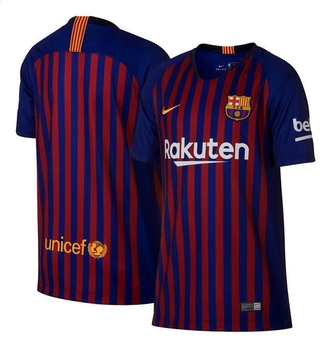 Afbeelding van Nike Voetbalshirt FC Barcelona Kids blauw/rood from DreamLand