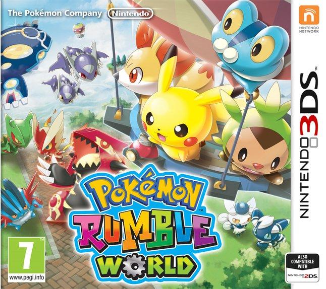 Afbeelding van Nintendo 3DS Pokémon Rumble World NL from DreamLand