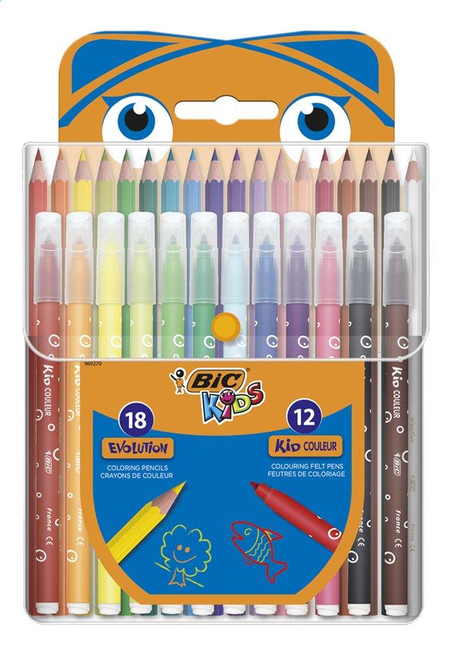 Bic Kids set de coloriage - 30 pièces