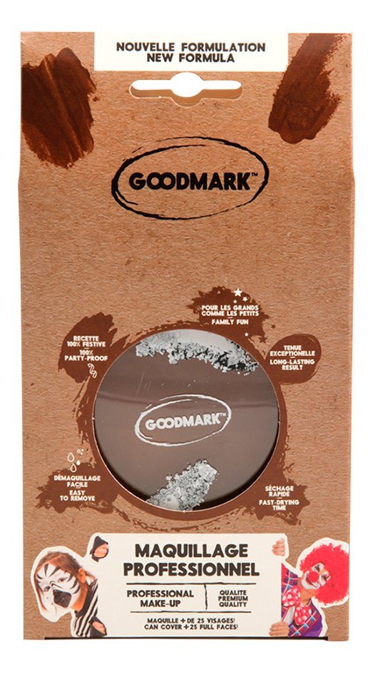 Goodmark Professional pot de maquillage 14 g brun