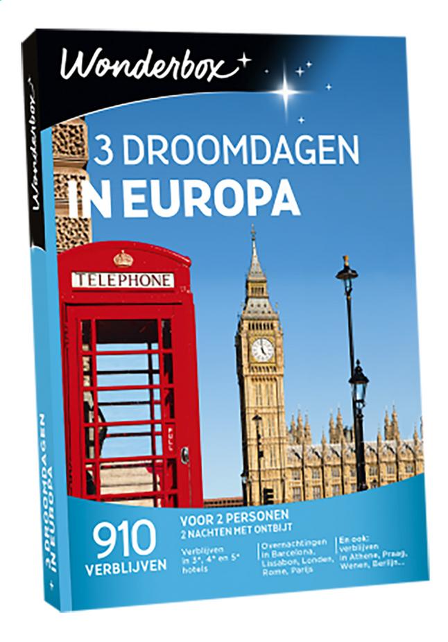 Afbeelding van Wonderbox 3 Droomdagen In Europa from DreamLand