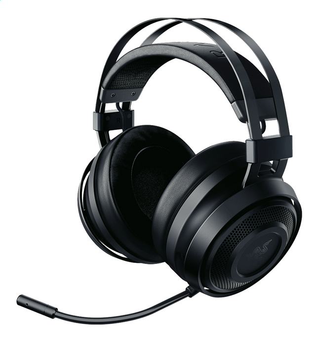 Afbeelding van Razer headset Nari Essential THX Wireless zwart from DreamLand