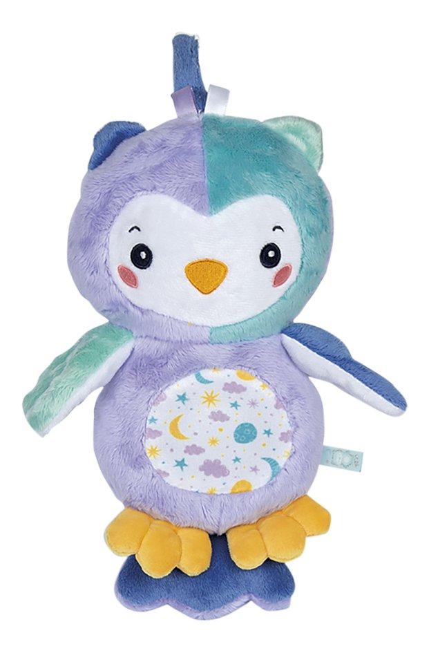 Afbeelding van baby Clementoni muzikale knuffel Goodnight Owl from DreamLand