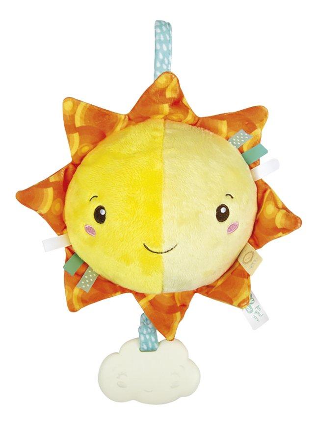 Afbeelding van baby Clementoni muzikale knuffel Soft Sun 22 cm from DreamLand