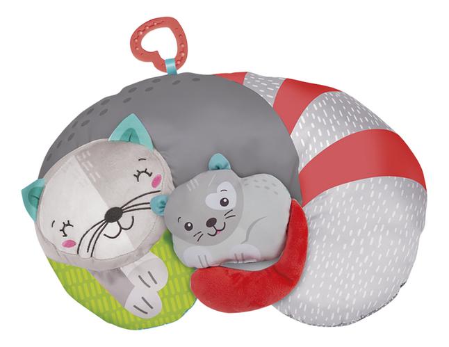 Afbeelding van baby Clementoni buikligkussen Kitty Kat from DreamLand