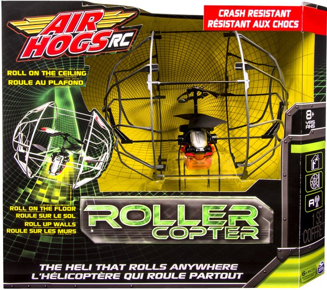 Afbeelding van Air Hogs helikopter RC Roller Copter grijs from DreamLand