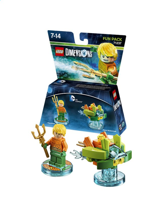 Afbeelding van LEGO Dimensions figuur Fun Pack DC Comics 71237 Aquaman from DreamLand