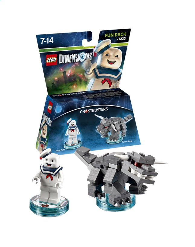Afbeelding van LEGO Dimensions figuur Fun Pack Ghostbusters 71233 Stay Puft from DreamLand
