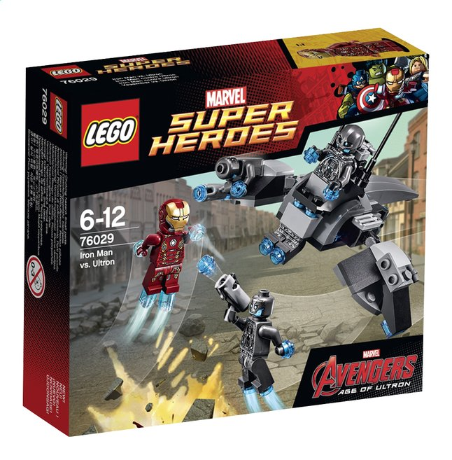 Afbeelding van LEGO Avengers Super Heroes 76029 Iron Man vs Ultron from DreamLand