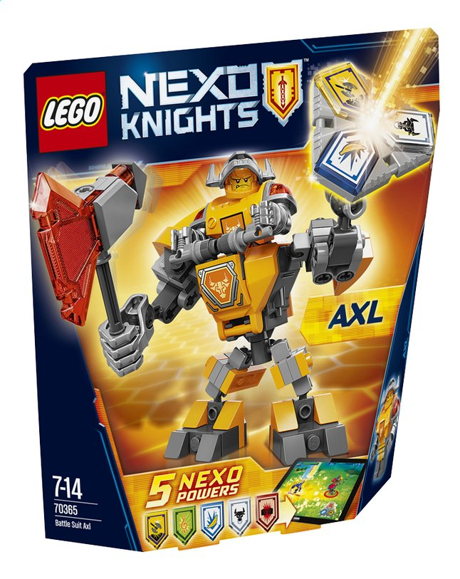 Image pour LEGO Nexo Knights 70365 La super armure d'Axl à partir de DreamLand