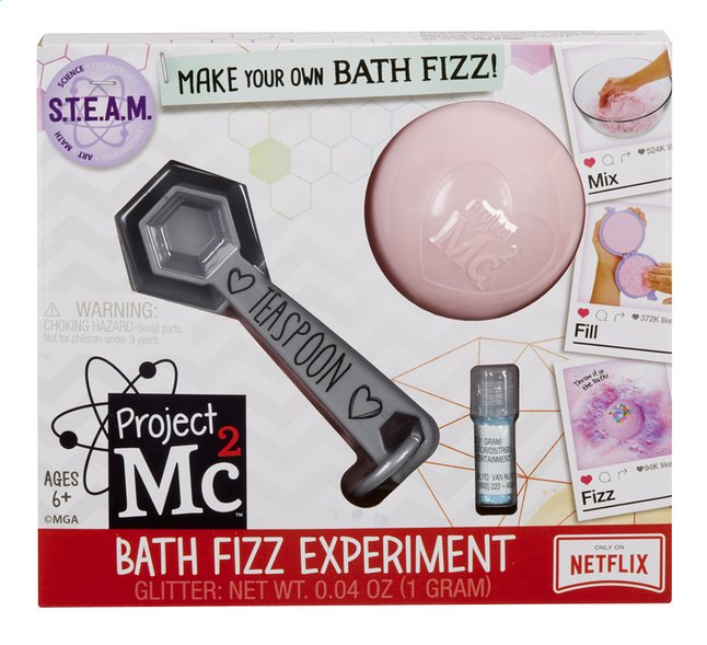 Afbeelding van Project Mc² S.T.E.A.M. Experiment Bath Fizz from DreamLand