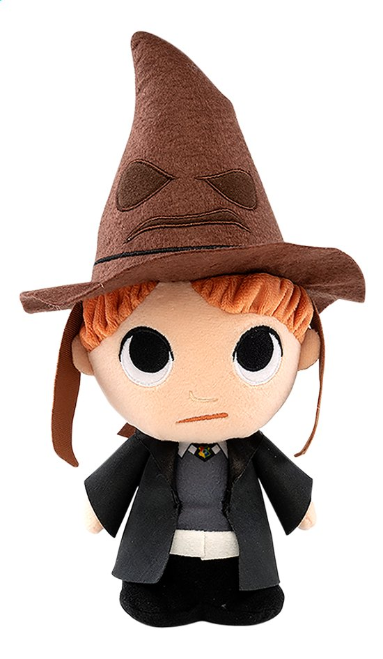 Funko peluche Harry Potter Ron avec Choixpeau