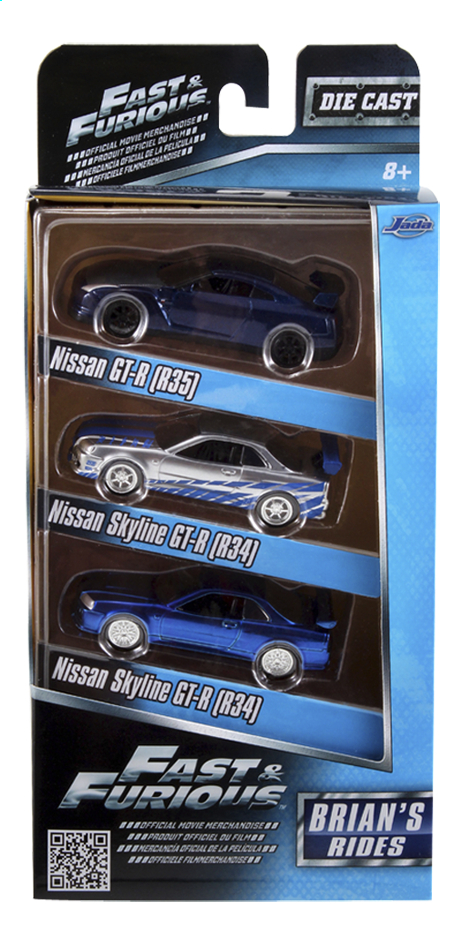Afbeelding van Auto Fast & Furious 3 pack Brian's Rides from DreamLand